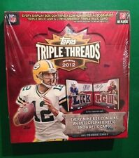 2012 Topps Triple Threads Football HOBBY Box Andrew Luck RC AUTO? Booklet? 1/1?