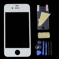 Frontglas Displayglas für Apple iPhone 4 4S Frontglas Scheibe Weiß Werkzeug Neu