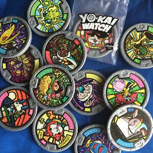 Yo-Kai Watch! Medal Selection - Genuine English Series 1 + 2 + 3 + PROMOS! Yokai
