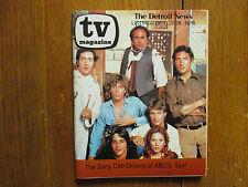 1978 Detroit News TV Mag(TAXI/JUDD  HIRSCH/ANDY  KAUFMAN/DANNY DEVITO/TONY DANZA