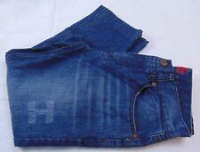 Do Denim Men's Dark Dist. Wash Distressed Straight Leg Jean Size 30 X 25 Altered