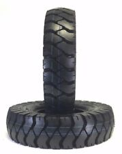 (2) 6.90/6.00-9 INDUSTRIAL FORKLIFT TIRES 600-9 6.00X9 600X9 690/600-9