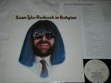 SEAN TYLA redneck in babylon LP Orig. Zilch Rec. # ZL 25355 GER 1981 ROCK