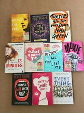 9 x Teen / Young Adult Book Set - Zoella book club - John Green, Holly Bourne,