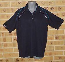 Callaway Medium Mens Golf Shirt Top Dark Blue Polyester Pre Owned Great Cond