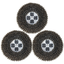 "CIMEX 19"" Natural Fiber (Anti-Static) Scrub Brush - Set of 3 - 4800"
