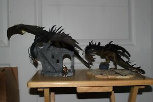 Lord of the Rings LOTR AOME Lot Osgiliath Ruins w/ Fell Beast & Pelennor Fields