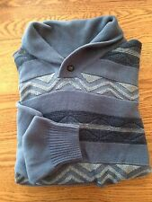 DOCKERS Collared Sweater Pullover Vintage Indigo Size 2XL New Sample