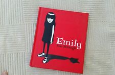 Emily the Strange Hardcover Book -- Rare -- Signed with drawing by Buzz Parker