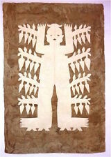 Amate Bark Paper Spirit Figure Art Dios de Chile
