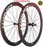 700C Bike Carbon Wheelset 38/50/60/88mm Clincher Road Wheels 23mm Width Bicycle