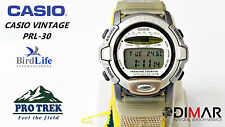 VINTAGE CASIO  PRL-30 PRO TREK  QW.1645 JAPAN THERMOMETER WR.100 Ø.38mm