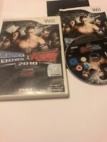 😍 jeu nintendo wii pal fr complet smackdown vs raw 2010 catch simulation