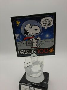 Peanuts 100 Piece Puzzle - Snoopy on the Moon- factory sealed