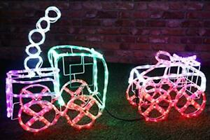 Christmas Concepts® 100cm LED Static Rope Light Train & Carriage (RL013)