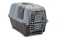 Transportbox Praktiko grau 48x31x33cm für Katzen und kleine Hunde Transport Box