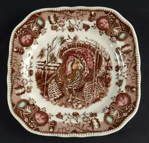 Johnson Brothers His Majesty Square Salad Plate 3950382