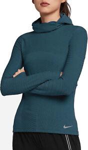 Nike Element BALA Long Sleeve Running Hoodie Womens Size S 932161-301 $100