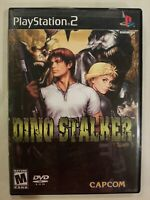 Dino Stalker (Sony PlayStation 2, 2002) PS2 Complete TESTED LN NM FREE S/H RARE