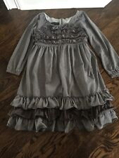 Isabella And Chloe Dress Size 8 Girls.  Gray