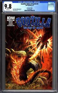Godzilla Rulers of Earth #25 CBCS 9.8 Sub Variant - Final Issue LPR - IDW