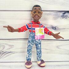 "Vintage Nanco 1991 Steve Urkel Family Matters Plush Doll 12"" Tall"