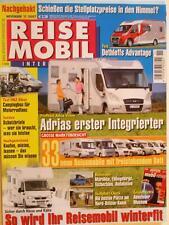 REISE MOBIL 11-07+ADRIA VISION 707 SG+DETHLEFFS ADVANTAGE+HRZ BIKER+WINTERFIT