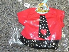 """Teddy Mountain 16"""" - Party Heart-y Boys 2722 Clothes Costume Outfit - New"""