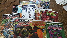 from Avengers Comic lot Secret Invasion inhumans 1-4 thor 1-3 x-men 1-4 one shot
