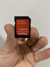 SanDisk micro SD microSD to SD SDHC SDXC Adapter fit 4GB 8GB 16GB 32GB 64GB