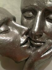 LOVE SCULPTURE ART DECO THE EMBRACE OF LOVE REALLY COOL