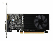 GIGABYTE NVIDIA GeForce GT 1030 GV-N1030D5-2GL Low Profile 2G Computer Graphics