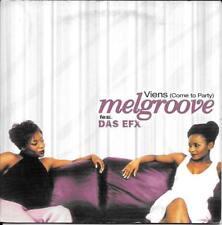CD SINGLE 2 TITRES--MELGROOVE FEAT. DAS EFX--VIENS--2000