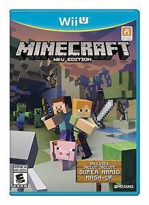 Minecraft: Wii U Edition [Nintendo Bonus Super Mario Mash-Up Video Game]