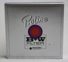 B+W Schnieder 52mm 52E 010 (2C) UV-Haze Coated Camera Filter NEW IN BOX
