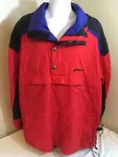 Vintage Tyrolia by Head Men's Ski Jacket Snowboard Coat Red Black Pullover XL FS