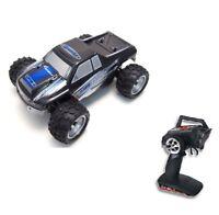 RC Auto Monstertruck Vortex M 1:18 40km/h inkl Akku und Ladegerät schwarz/blau