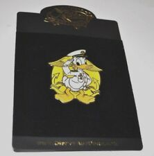 Rare New Disney Auctions P.I.N.S. Pin LE500 LE 500 Donald Duck US Navy LOT 136