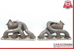 08-14 Porsche Cayenne 957 958 4.8L Right & Left Side Exhaust Manifold Header Set