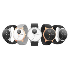 Withings Steel HR Smart Watch Stylish Activity Tracker (White, Rose Gold, Black)