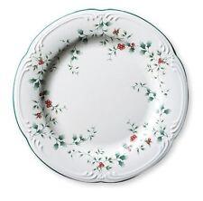 "PFALTZGRAFF Winterberry 10.5"" Dinner Plate, Mistletoe, Green Holly & Red Berries"