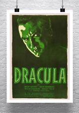 Dracula 1931 Vintage Vampire Horror Movie Poster Canvas Giclee Print 24x32 in.