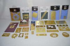 LOT 29 Lasting Impressions Brass Embossing Stencils Cards Scrapbooking