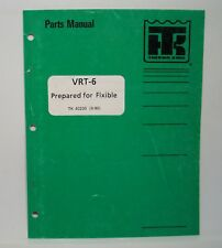 """Thermo King Parts Manual VRT-6 Prepared for Flxible 96"""" 102"""" Bus TK 40230 9/1990"""