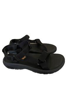 Teva Mens Hurricane XLT2 Hiking Sport Sandals Black Hook And Loop 10 1019234 New