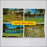 Kings Park Perth 4 Views Postcard (P402)