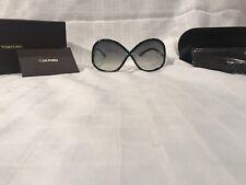 Tom Ford Ivanna Black / Gray Gradient Sunglasses TF372 01B.