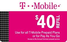 T-Mobile Prepaid Refill Card