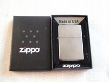 * NEW * Zippo Lighter 207 Regular Street Chrome Windproof