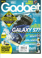 HOW IT WORKS, GADGET MAGAZINE,  ISSUE, 2016   NO. 08  GALAXT S7 ?  PRINTED IN UK